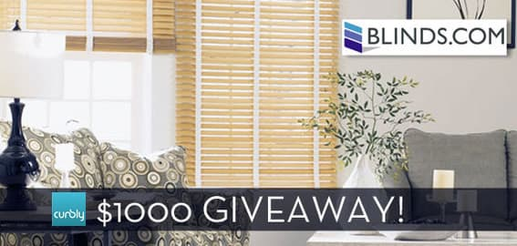 Curbly Blinds.com giveaway