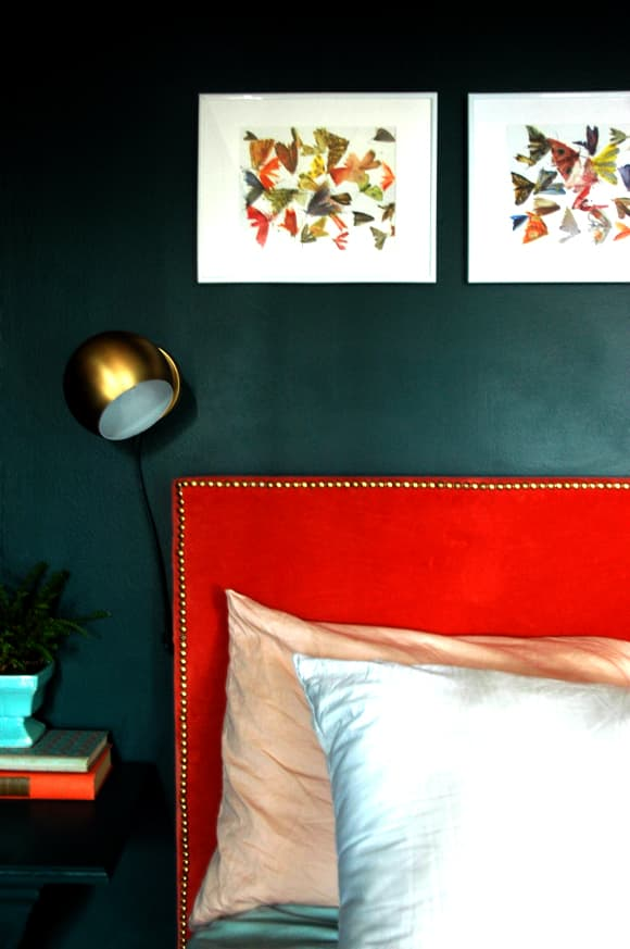 Little Green Notebook Bedroom Makeover