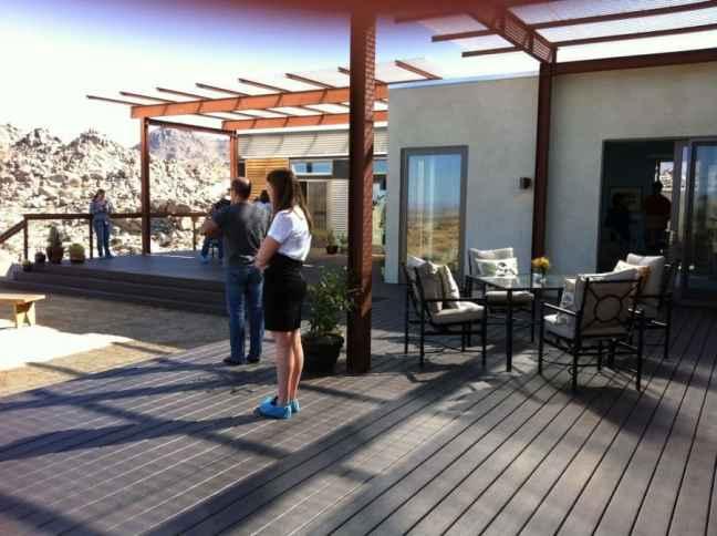 Blu Homes pre fab house built for Disney family