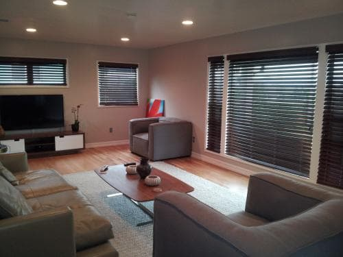 Real Customer Photo- Bali Wood Blinds