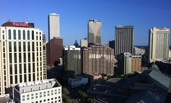 optional pic of new orleans taken from the Hilton Riverside