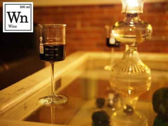 Periodic Tableware Wine Glass