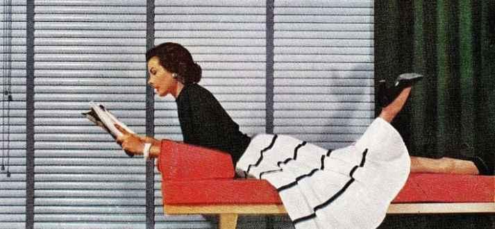 vintage blinds