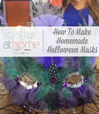 Halloween Masks DIY