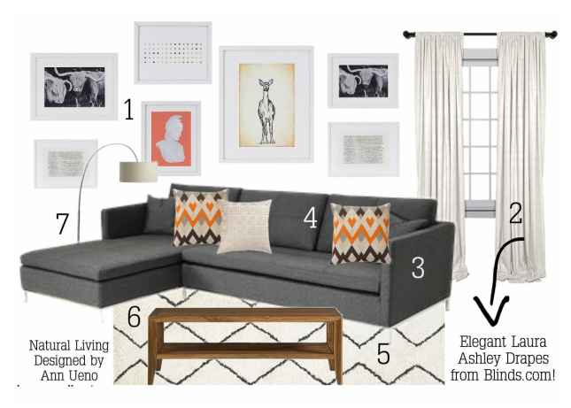 Blinds.com Styled By House & Host  - Natural Living