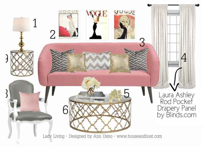 Lady Living Room - Blinds.com Styled By House & Host