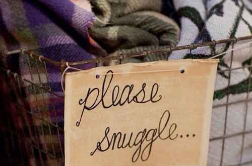 Please snuggle cozy home decor