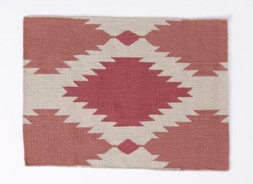 West Elm Phoenix Wool Dhurrie Rug