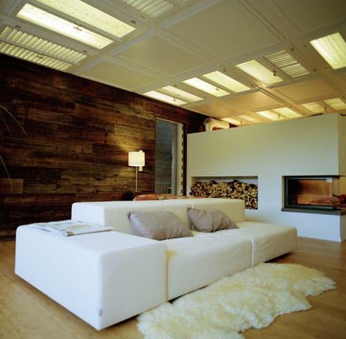 Shutter ceiling