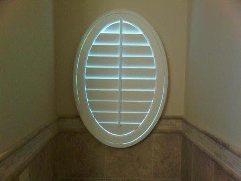 oval window shutter