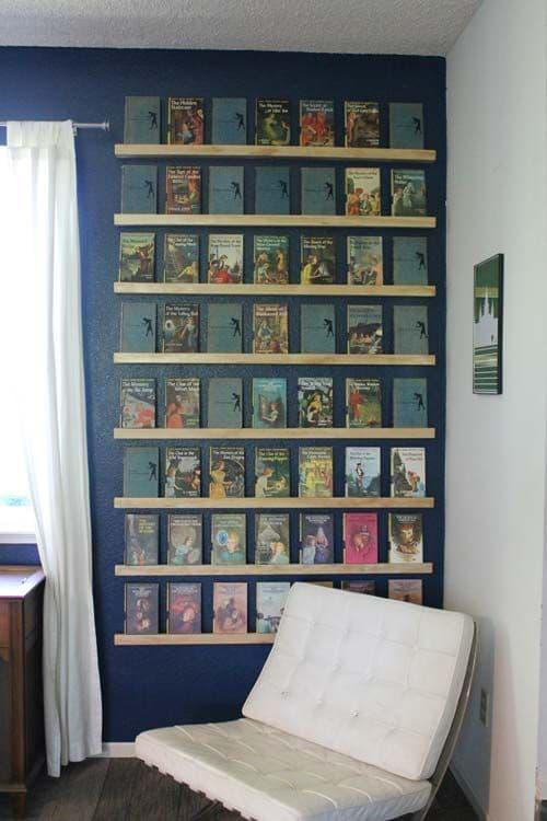 Nancy Drew Book Display