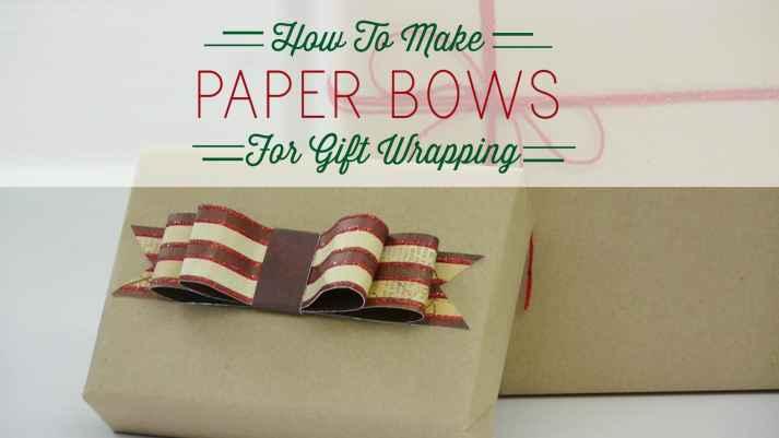 Paper-Bows