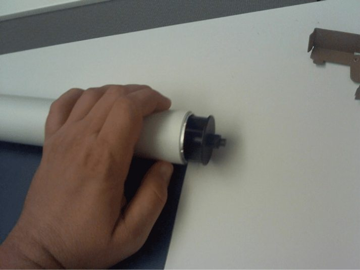 how to reverse roller shade6