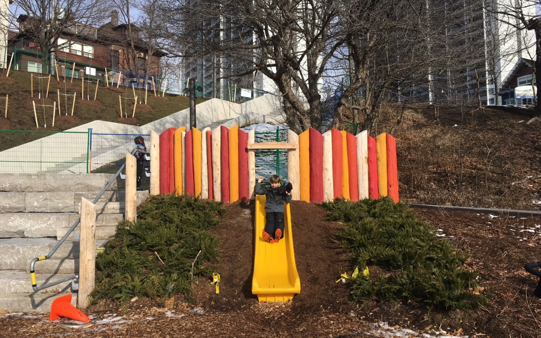 Riverdale Park East Playground and Skate Trail