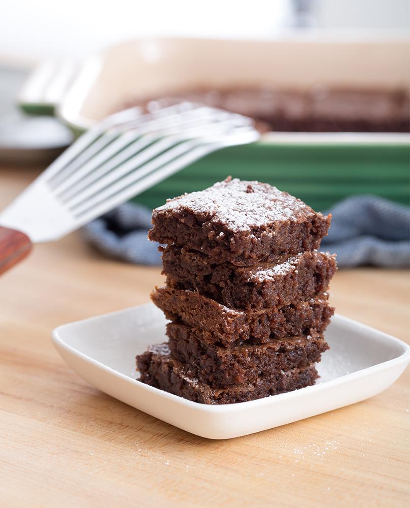 Five-Ingredient Brownies   Blue Apron