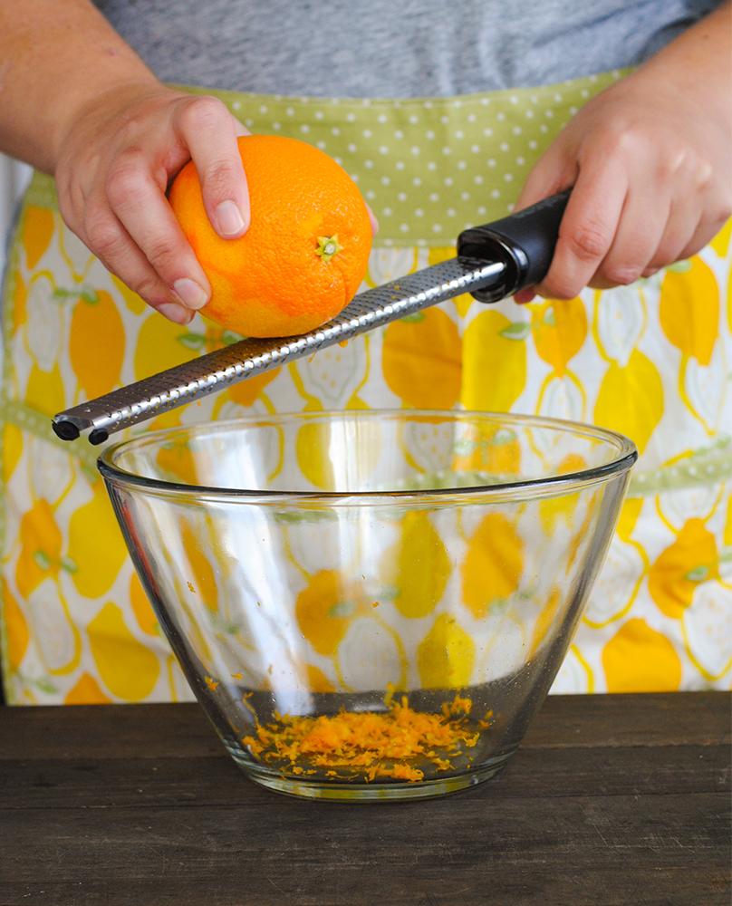 Zesting Orange | Blue Apron