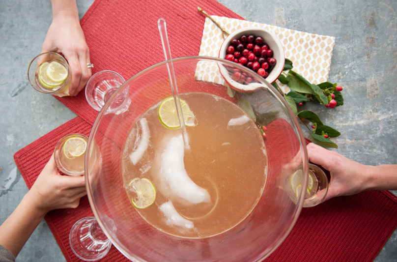 Holiday Punch from Blue Apron