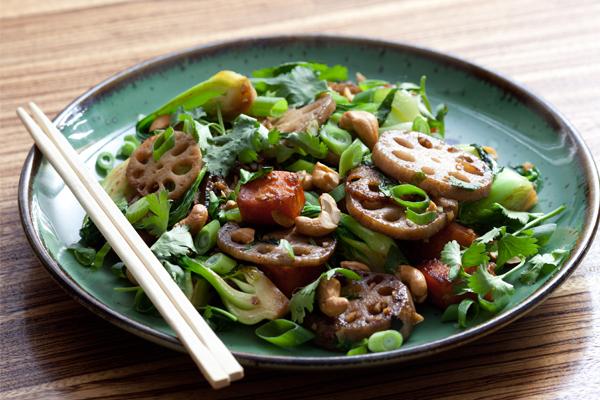 sweet and savory stir-fry