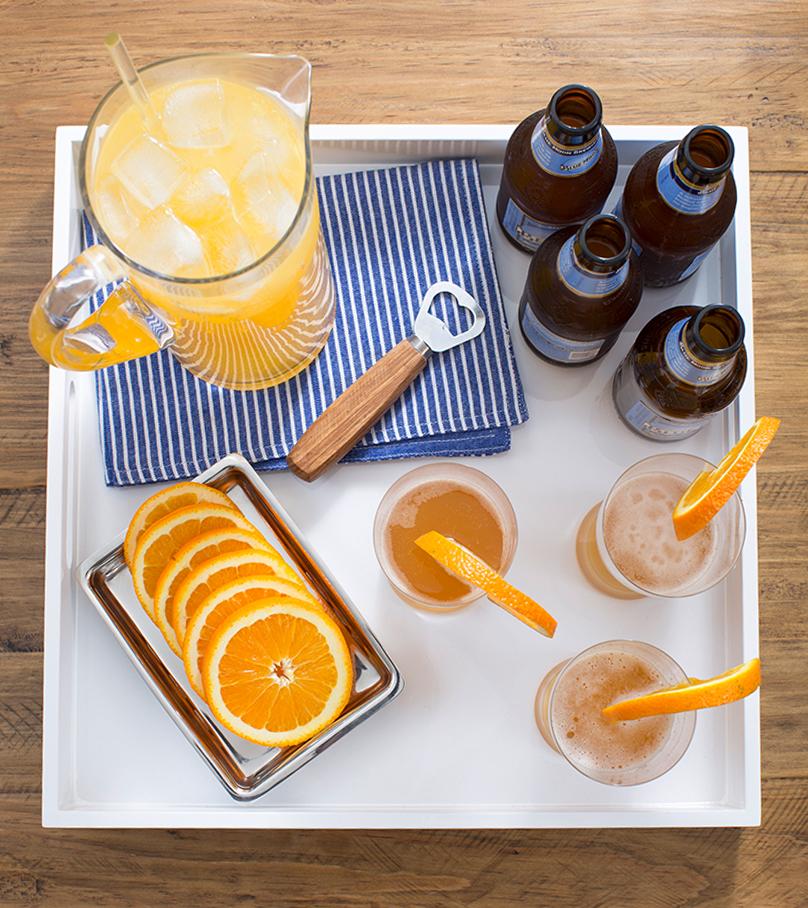 Drink Tray Orangeade