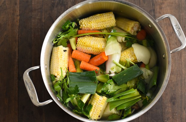 How to Make Veg Stock with Scraps From Your Kitchen