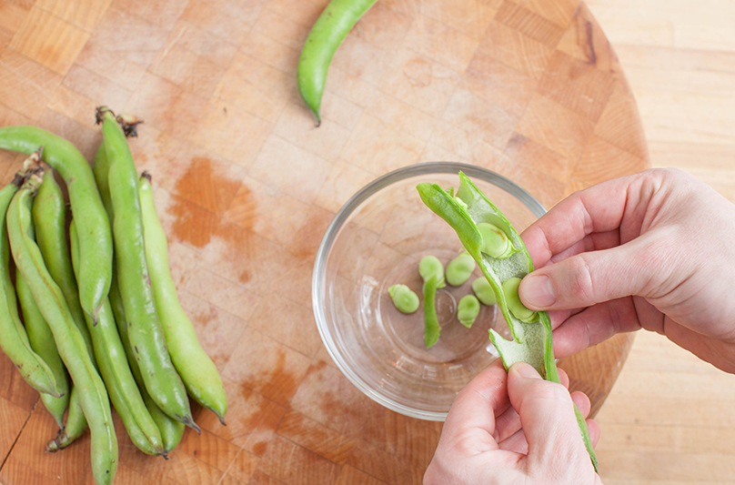 How to Prep Fava Step 2