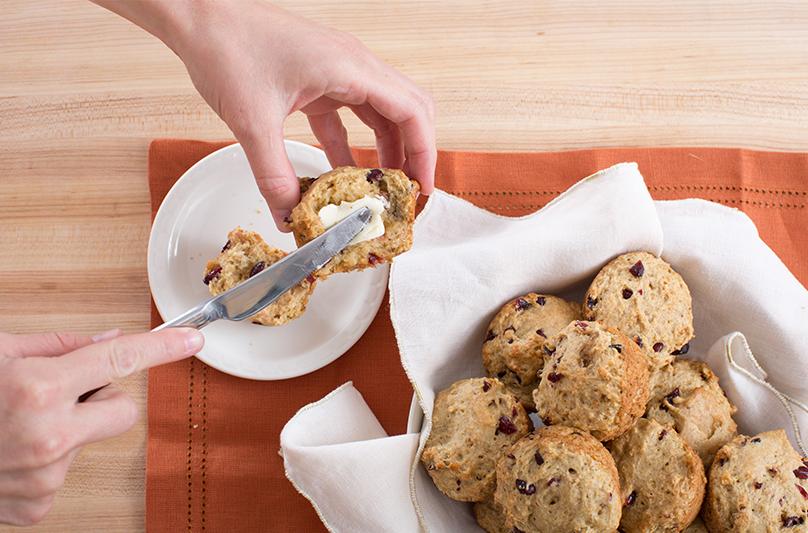 Cranberry Walnut Muffins | Blue Apron