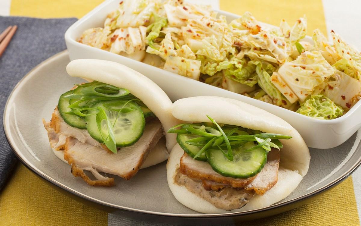 pork steam buns