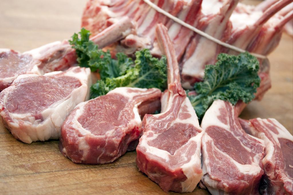 rib chop cut of lamb