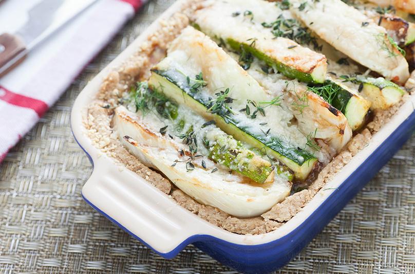Zucchini Tart from Blue Apron