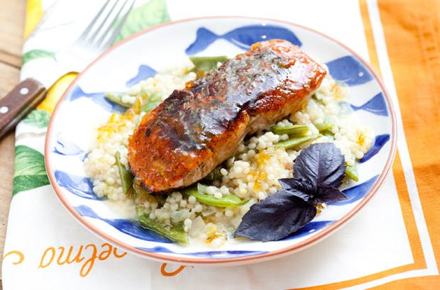 Bronzed Salmon from Blue Apron