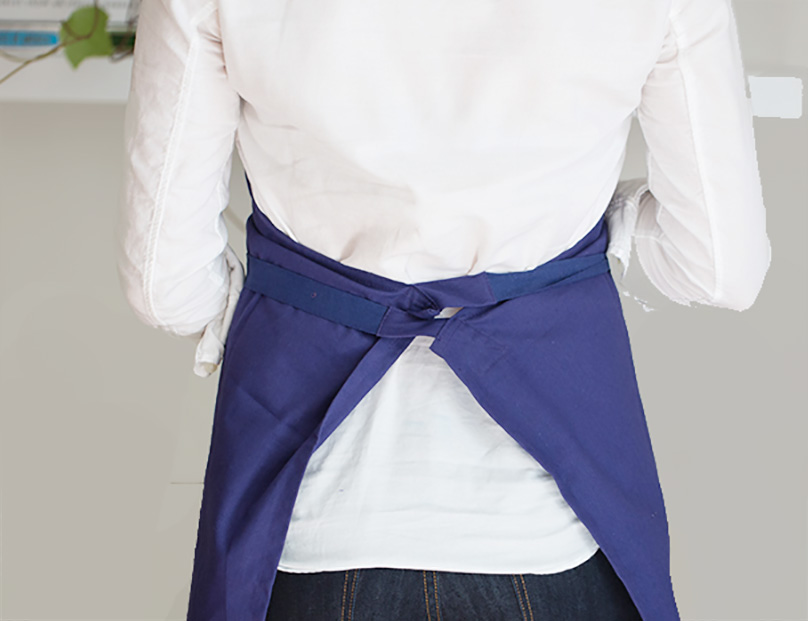 Crossed Back Apron Ties