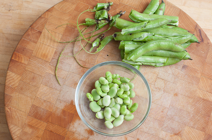 How to Prep Fava Step 3