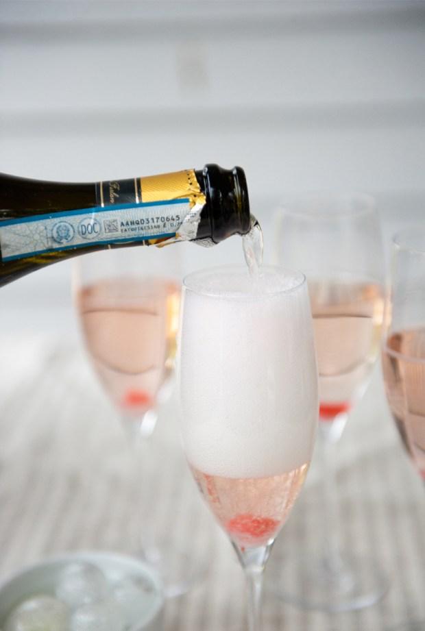 Ball Drop Champagne   Blue Apron