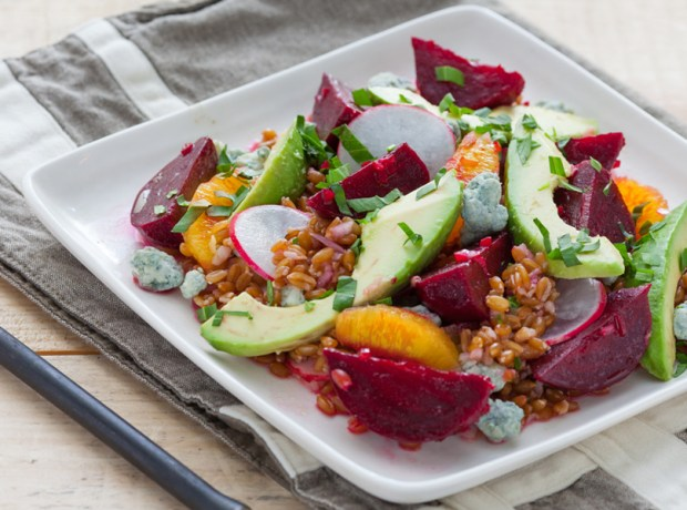 Beet Spelt Salad