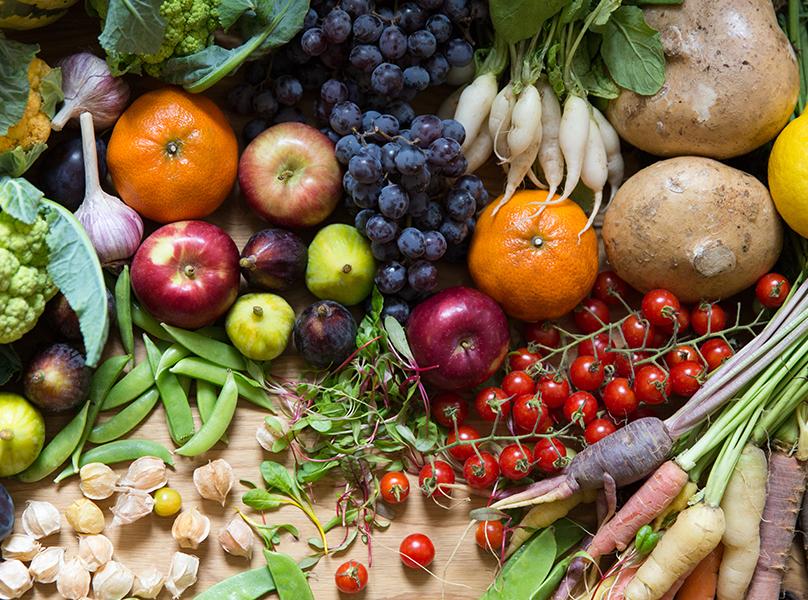 Vegetables for crudite close up