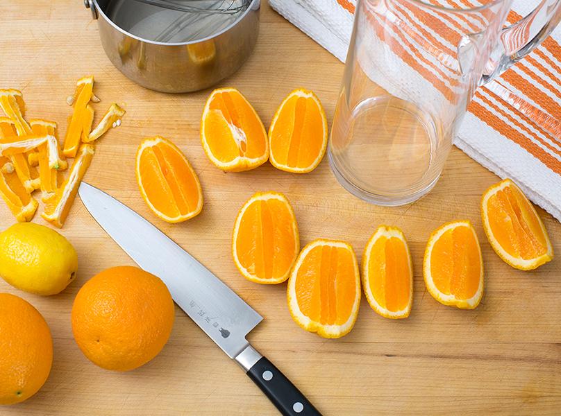 Orangeade Oranges