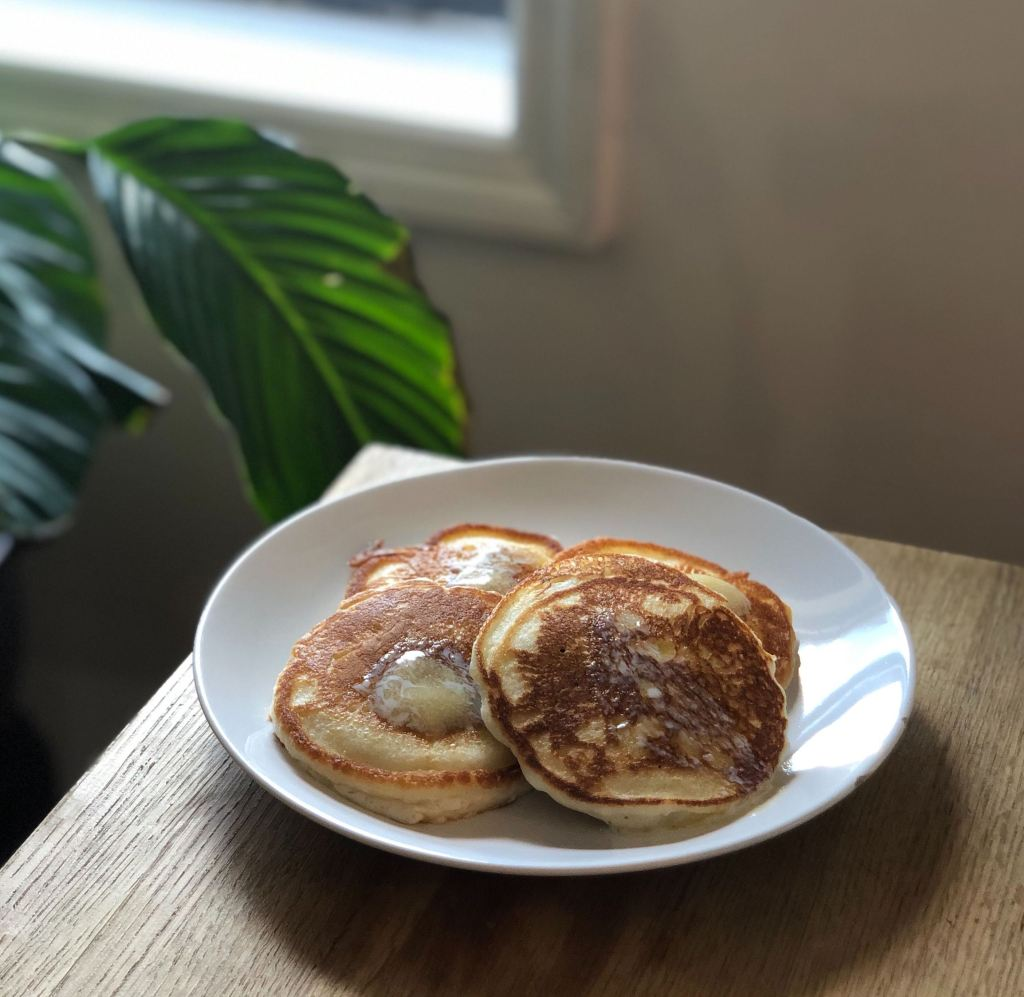 Pancakes for work from home lunch