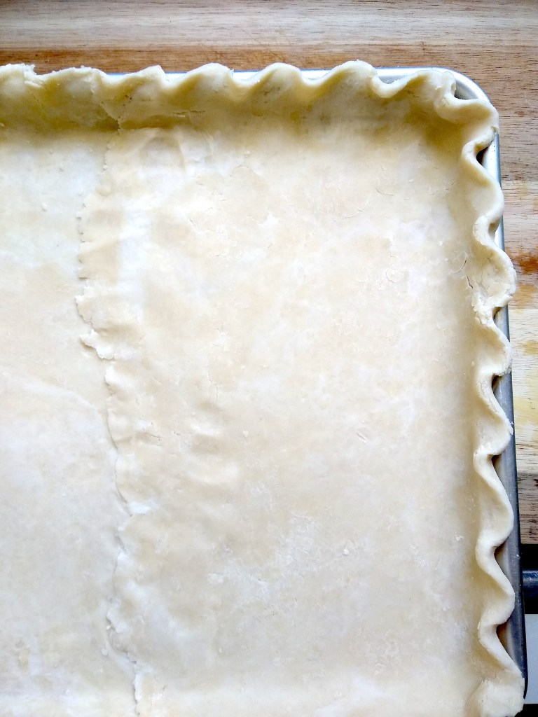 slab pie crust