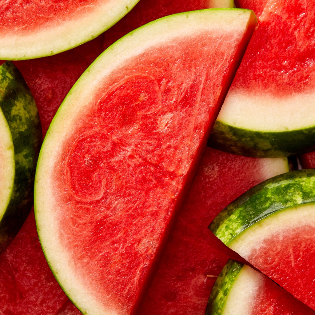 watermelon is a good beach food