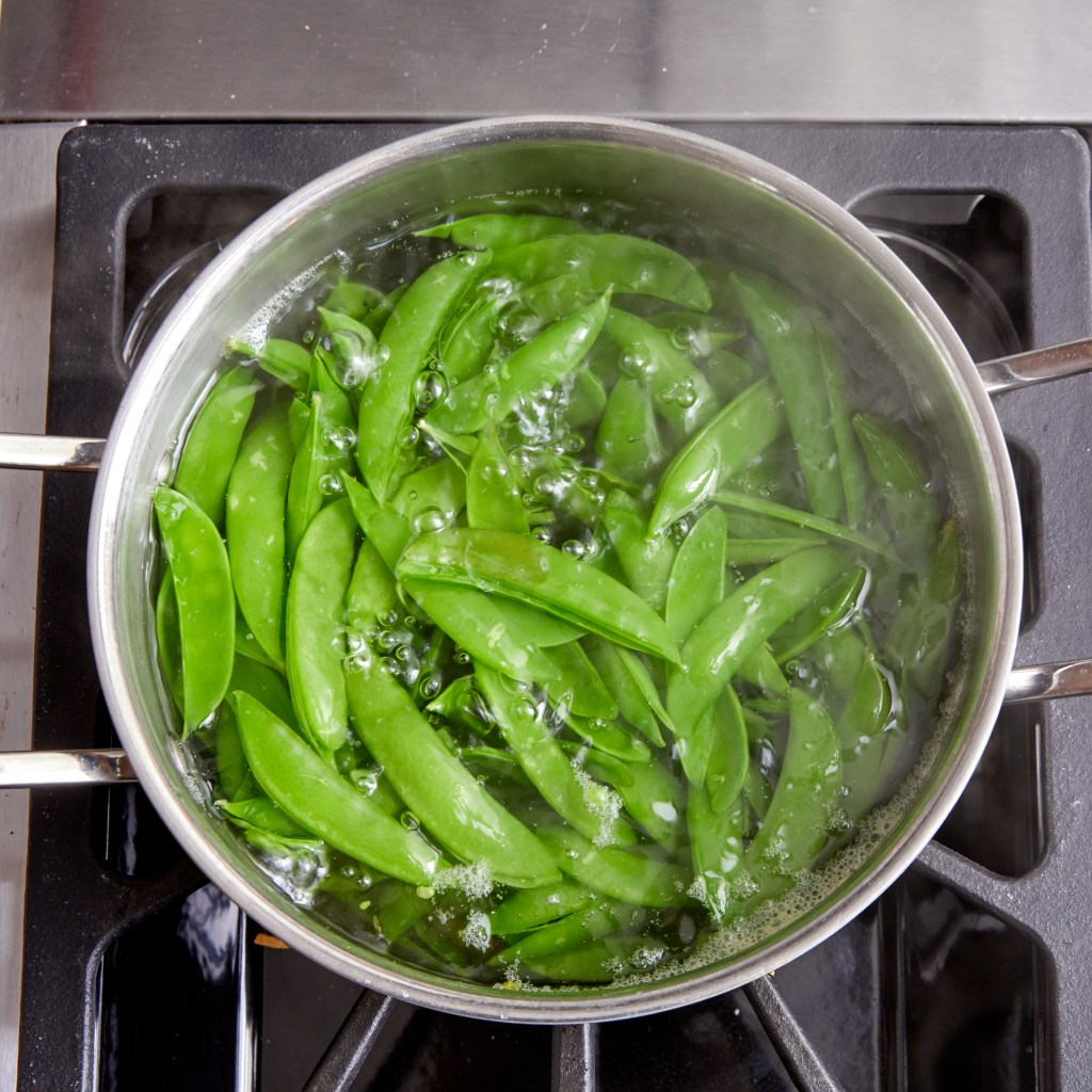 Cooking Pea Pods