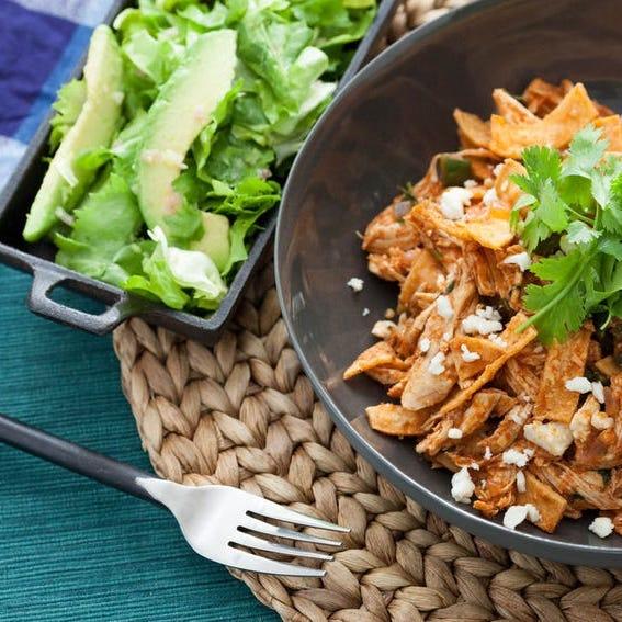Escarole Salad with Avocado