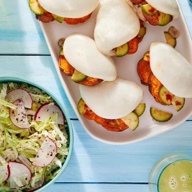 Napa Cabbage & Radish Salad