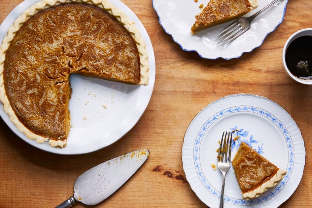Pumpkin pie variation with sweeten condensed milk