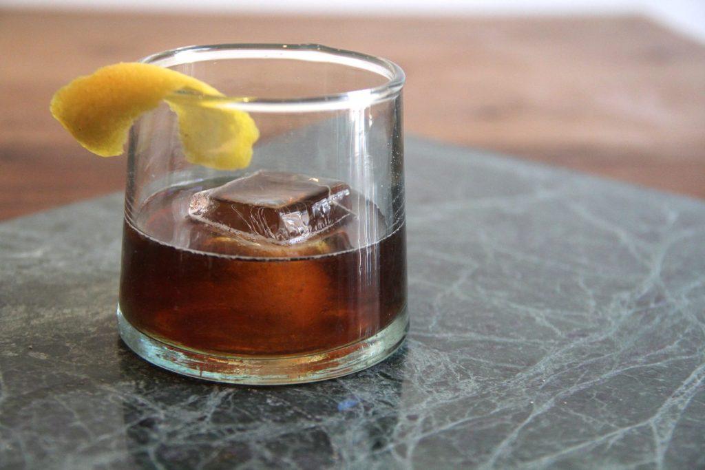 Bourbon Peach Cocktail by Edouardo Jordan