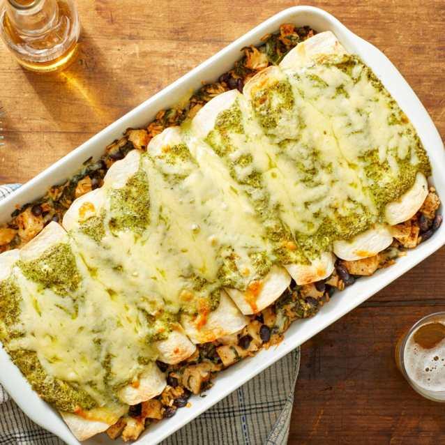 enchilada tortilla filling recipe