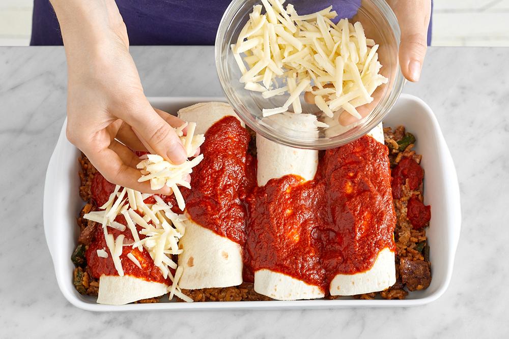 Kids Meal Delivery Kit of Enchiladas