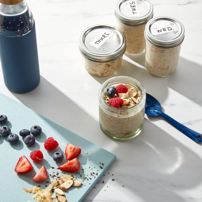 make ahead breakfast overnight oats