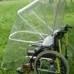 車椅子用アンブレラ