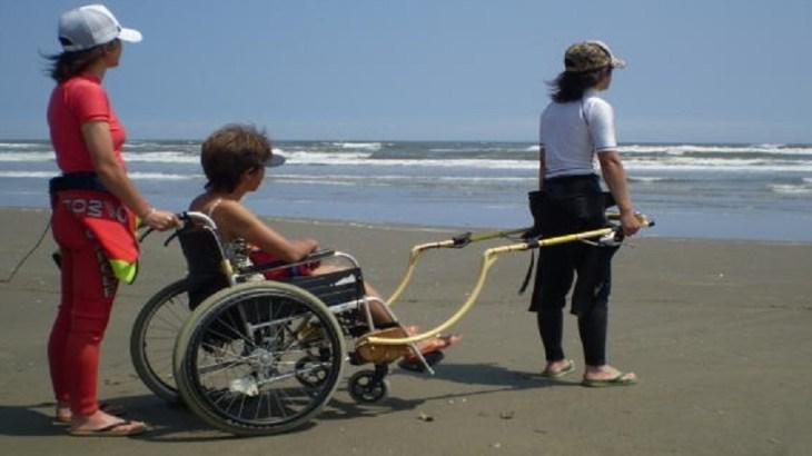 片麻痺になっても、もう一度海へ