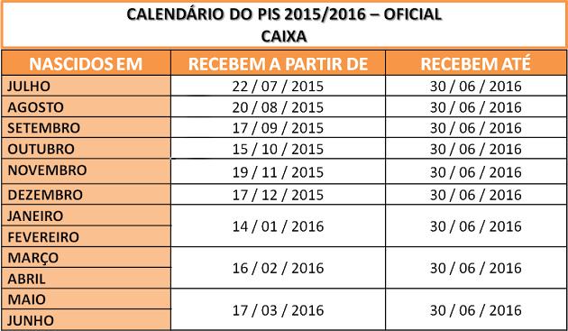 Calendario-do-PIS-2015/2016